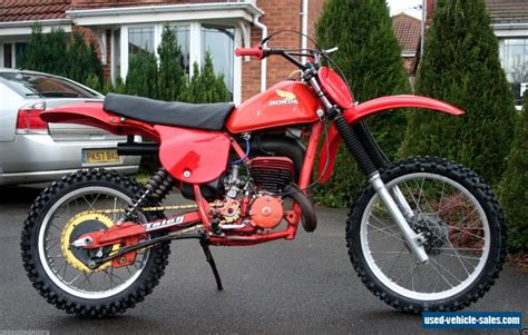 classic motocross bikes for sale 1979 honda cr 250 for sale in the united kingdom