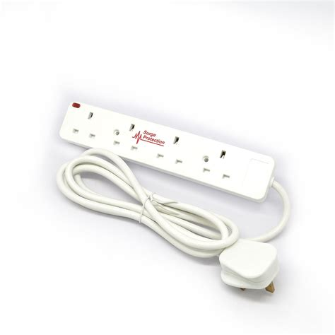 Adaptor Multi 1 to 6way switched multi socket extension adaptor anti surge neon usb port ebay