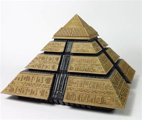 stargate ra pyramid model kit cgtrader