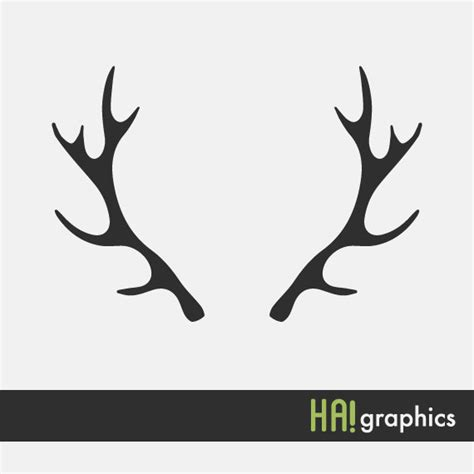 deer antler clip antler clipart deer antler pencil and in color antler