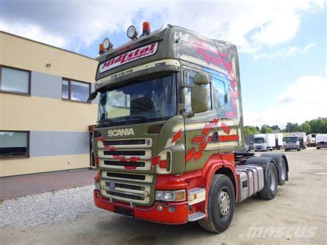 used scania r 500 6x2 hydraulics tractor units year