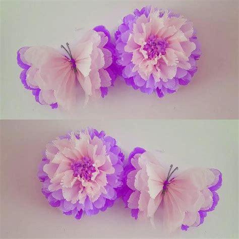 para bautizo compuesta por cuatro centros de flores de papel para m 225 s de 1000 ideas sobre mariposas de papel en pinterest