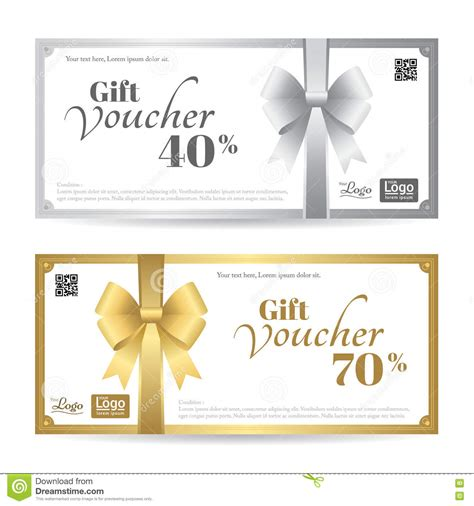 gift card image template gift card or gift voucher template with shiny gold