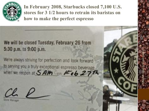 Starbucks Mba by Starbucks Mba 435 Organizational Behaviour Study 7b