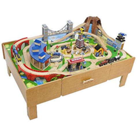 brio train with drawers imaginarium classic train with roundhouse wooden