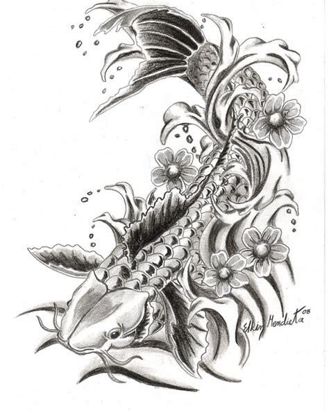dibujos japoneses imagui dibujos de pez koi imagui tattu like pinterest