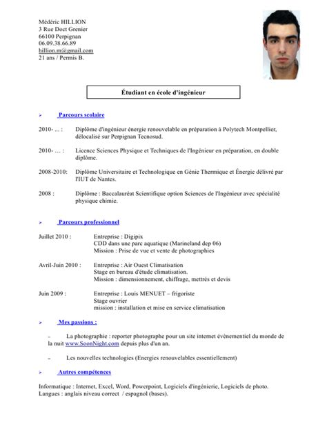 Lettre De Motivation De Frigoriste Exemple Cv Frigoriste Cv Anonyme