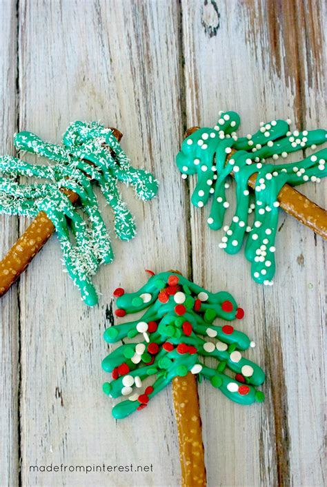 pretzel christmas trees tgif this grandma is fun