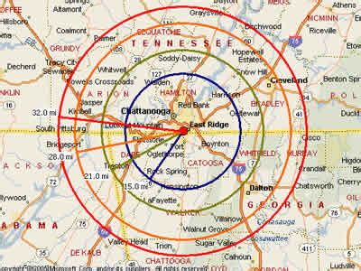 map of chattanooga tn easy moving labor map for chattanooga moving labor