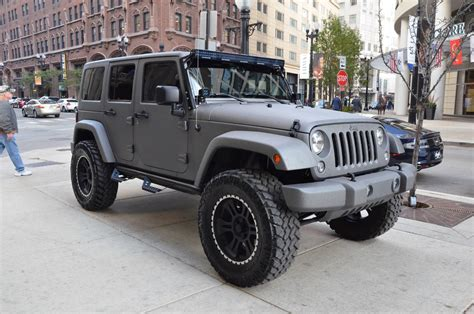 Jeep Chicago 2014 Jeep Wrangler Unlimited Sport Stock 12051 For Sale