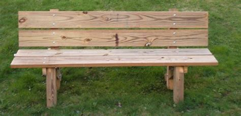 build a park bench handymanusa building a garden bench