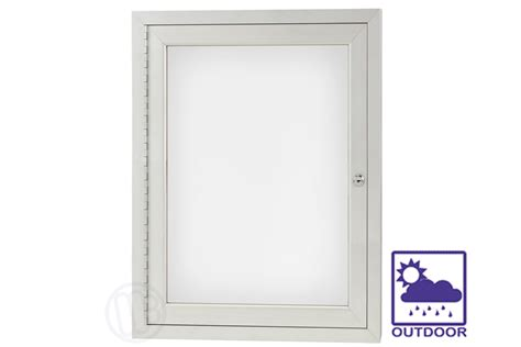 dry erase board cabinet outdoor enclosed dry erase board