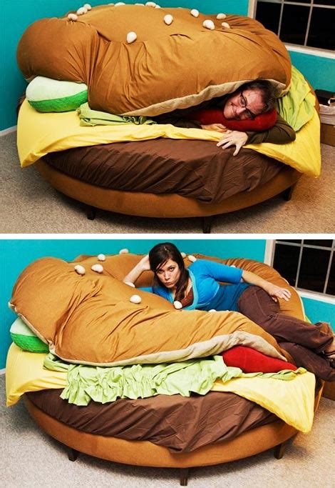 burger bed the hamburger bed