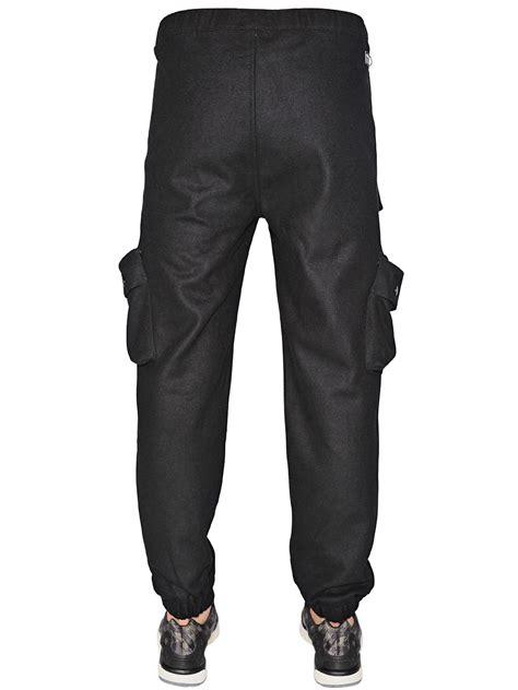 Sweat Pant Adidas Black Kode 002 lyst adidas originals wool blend cargo in black