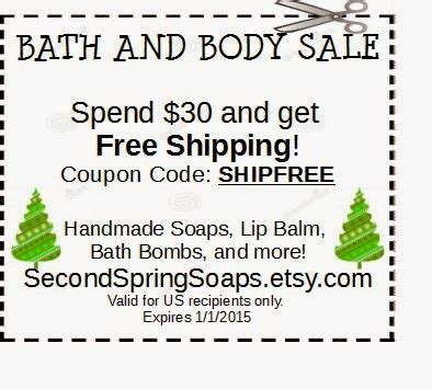 swings and things coupon code second spring soaps christmas savings and holiday coupons
