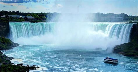 niagara falls boat tour from toronto from toronto niagara falls day tour with boat cruise