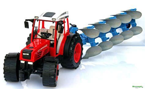 volante pc con frizione trattore a frizione con aratro cm 49x13x13 per bambini di
