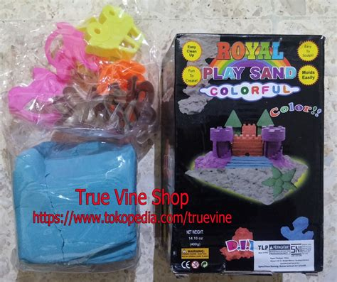 Pasir Kinetik Box By Edutoys jual royal play sand colorful pasir kinetik kinetic