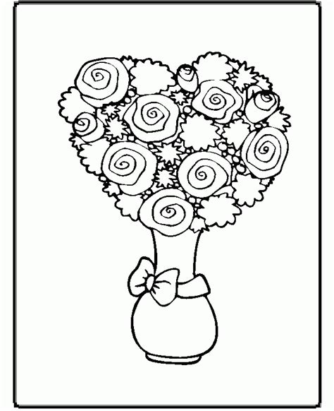 beatifull flower and unique coloring page flower coloring