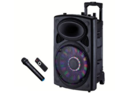 Rechargeable Trolley Speaker   GMS8519   Geepas For You. For life.