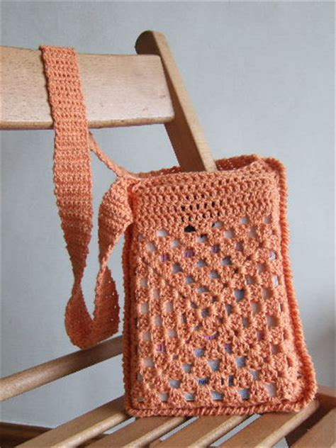 Crochet Pattern Book Bag   cute crochet book bag favecrafts com