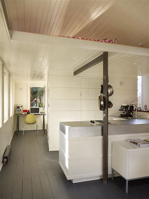Tumbleweed Whidbey garage conversion that turn it into contemporary living