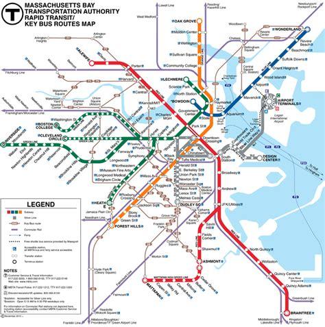 mbta commuter rail map authority mbta