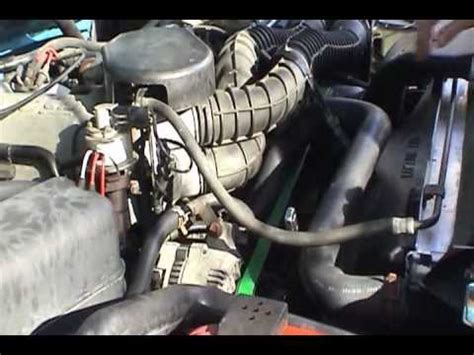 Fanbelt Fanbel V Belt Fm31 Fm 31 how to install replace air conditioning bypass pulley