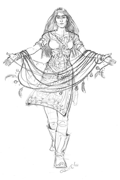 free adult fantasy coloring pages