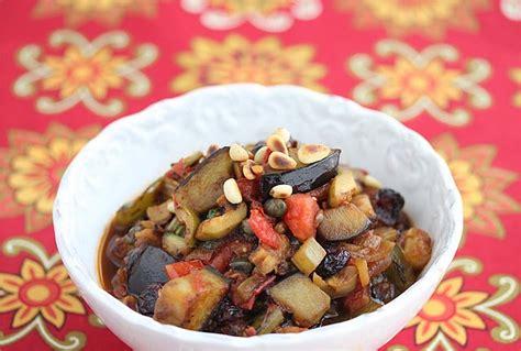 b f vegetables caponata recipe lidia bastianich recipes and