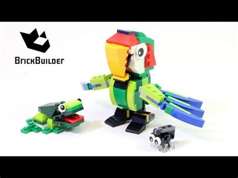 Sale 31031 Lego Rainforest Animal Parrot Creator 3 In 1 lego creator 31031 rainforest animals parrot lego speed build save money with diy guides