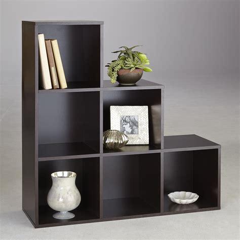 6 Cube Shelf by Essential Home 6 Cube Step Storage Unit