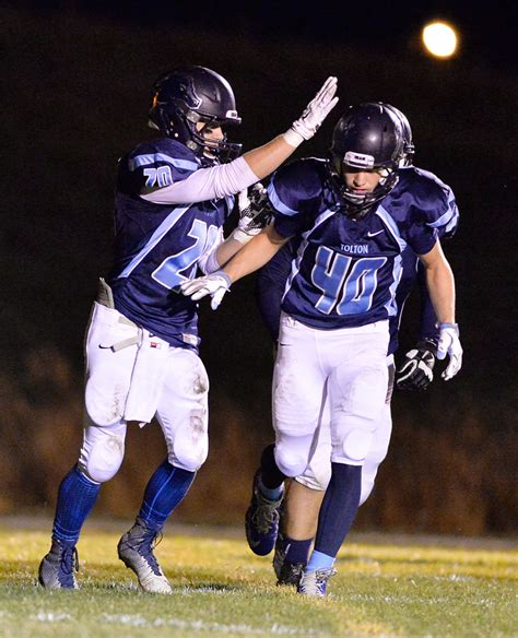 Knob Noster Football by Fast Start Propels Tolton Football To