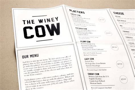 menu design jde branding menu design and stationery for a wine and cheese