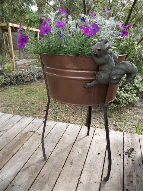 galvanized tub planter galvanized tub planter galvanized tubs