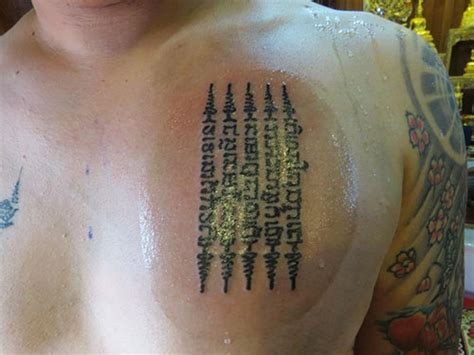 thai tattoo and meaning hah taew bangkok ink tattoo