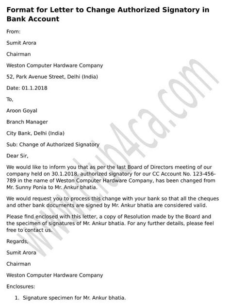 request letter for bank password board resolution letter sle for removal of authorised