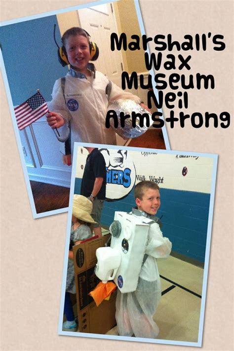 neil armstrong biography for second graders 9 best 4th grade wax museum images on pinterest wax