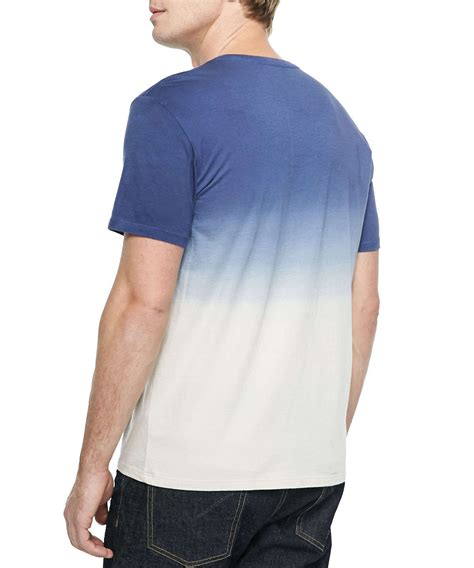 two tone color bright color dip dyed two tone plain color t shirt buy