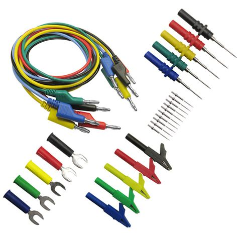 Promo Promo Holdpeak Hp 881c 200000 Digital Meter p1036b 4mm banana to banana test lead kit for multimeter cable match the alligator clip