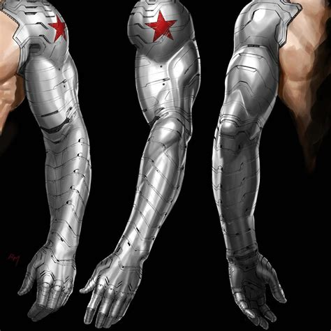 winter soldier arm tattoo captain america the winter soldier bucky barnes arm