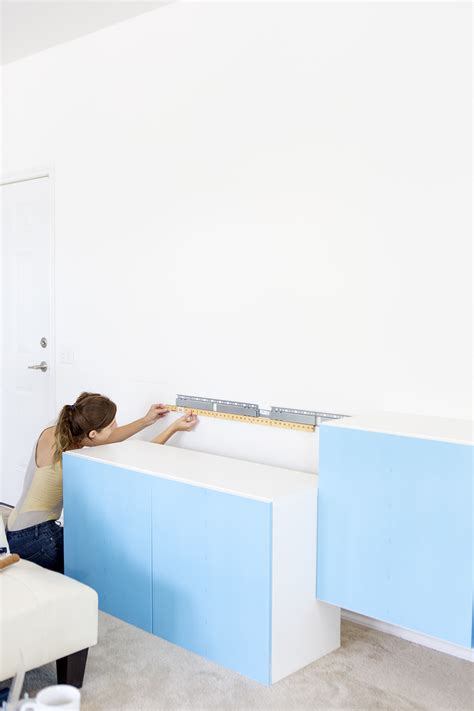 Ikea Besta Wall Shelf How To Install Ikea Besta Cabinets Wall Mount Walls And