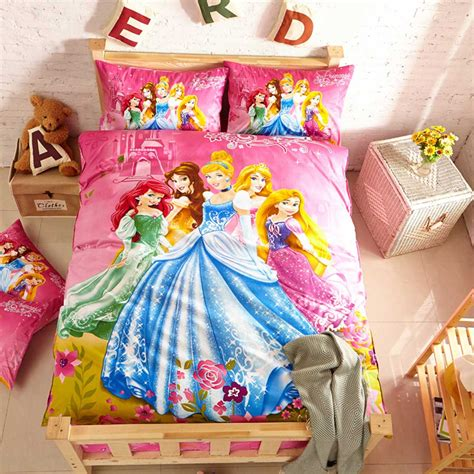 Disney Set Princess disney princess bedding set for a wonderful gift
