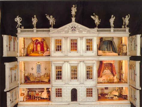 georgian dolls houses gothic tea society doll house