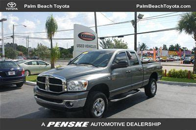Used Cars For Sale In Florida 2500 Buy Used 2007 Dodge Ram 2500 Slt 4x4 4dr Cab Cummins