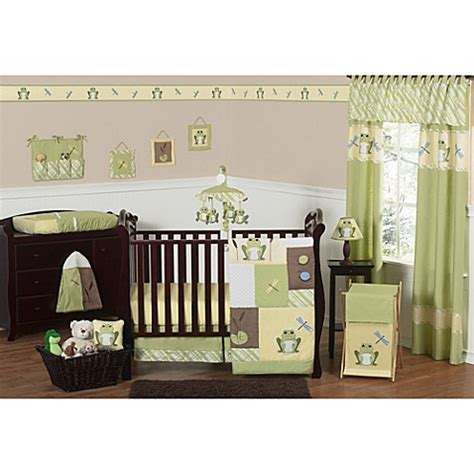 Frog Crib Bedding Sweet Jojo Designs Leap Frog 11 Crib Bedding Set Buybuy Baby