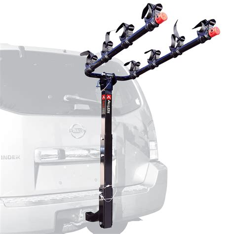 How To Install Allen Sports Bike Rack by Allen Sports Deluxe Four Bike Hitch Rack