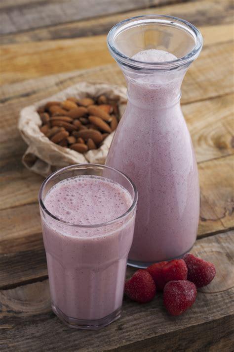 Strawberry Milk Almond strawberry mango and almond smoothie all nutribullet recipes