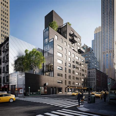 Post Office Tribeca by Reveal For 12 Story 23 Unit Condo Building Planned
