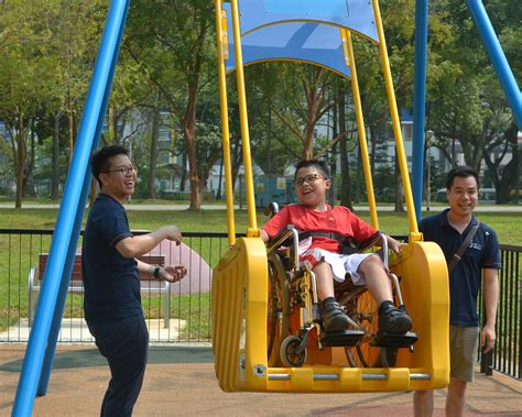 wheelchair accessible swing a tbt to how s pore looked like 20 years ago we felt a